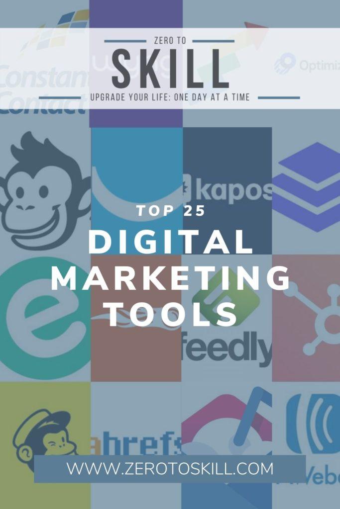 Top 25 Digital Marketing Tools_