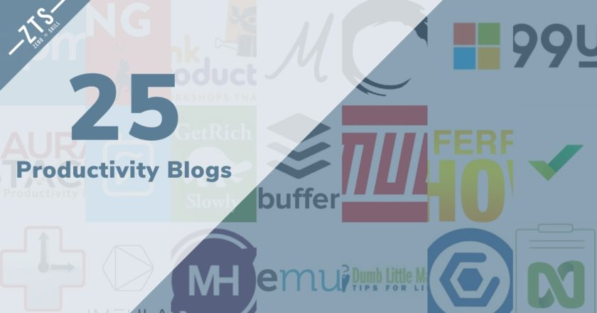 Top 25 Productivity Blogs for 2020