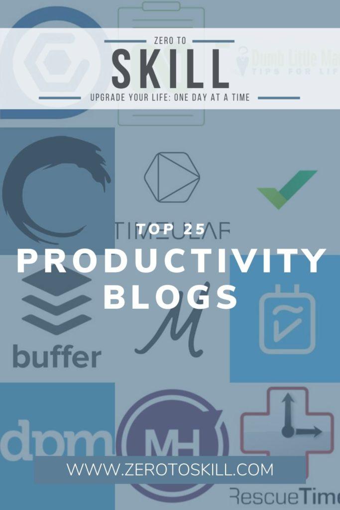 Top 25 Productivity Blogs