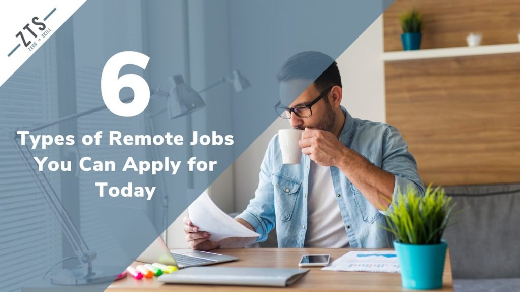 Remote Jobs to Apply to Today