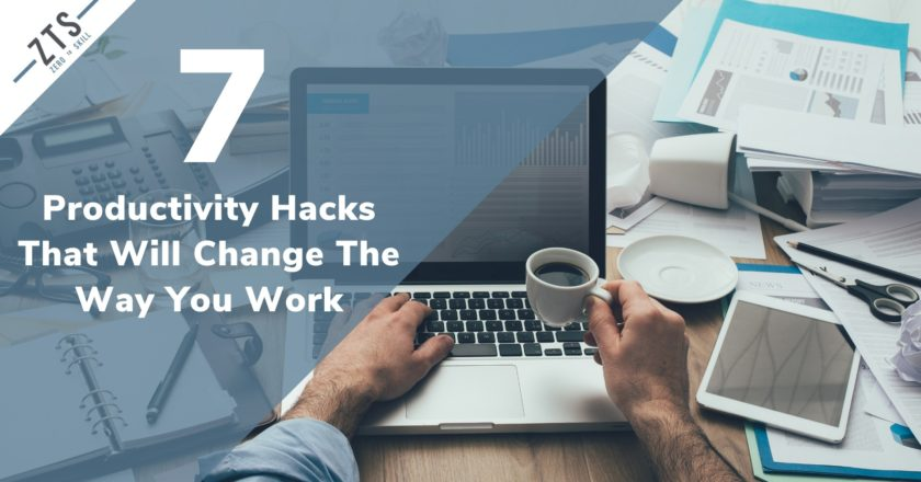Productivity Hacks: These 7 Things Will Completely Change the Way You Work