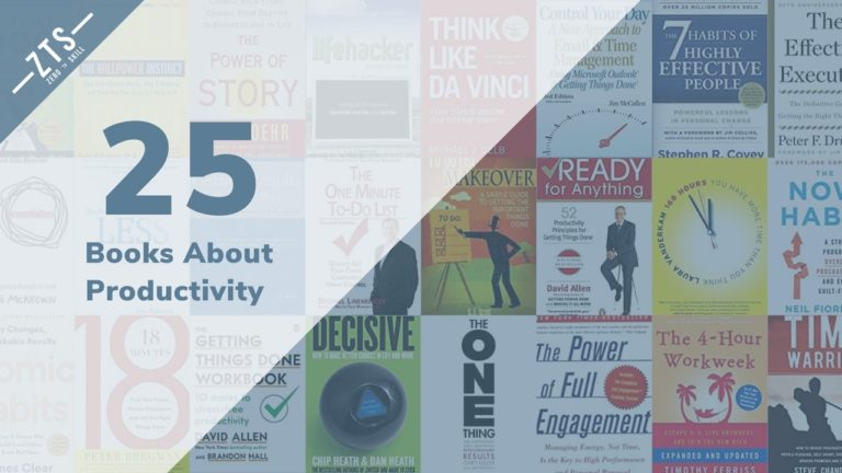 The 25 Best Productivity Books for 2020