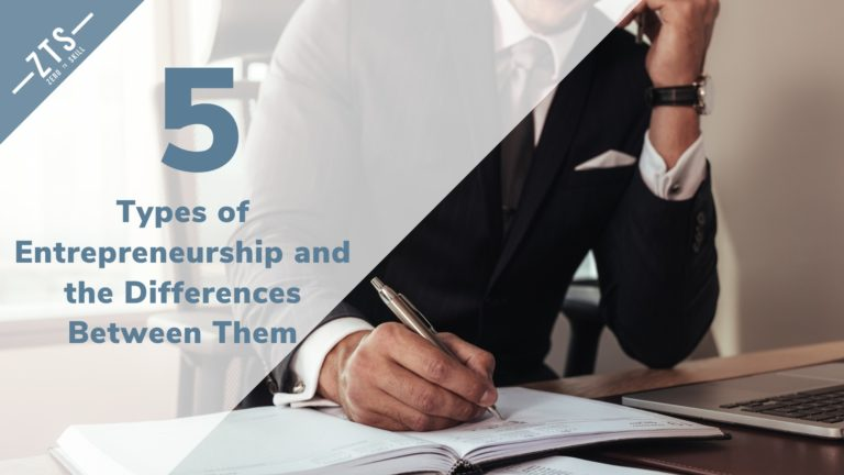 5 Types of Entrepreneurship and the Differences Between Them