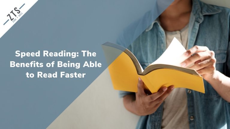 Speed Reading: The Benefits of Being Able to Read Faster and Retain More Information