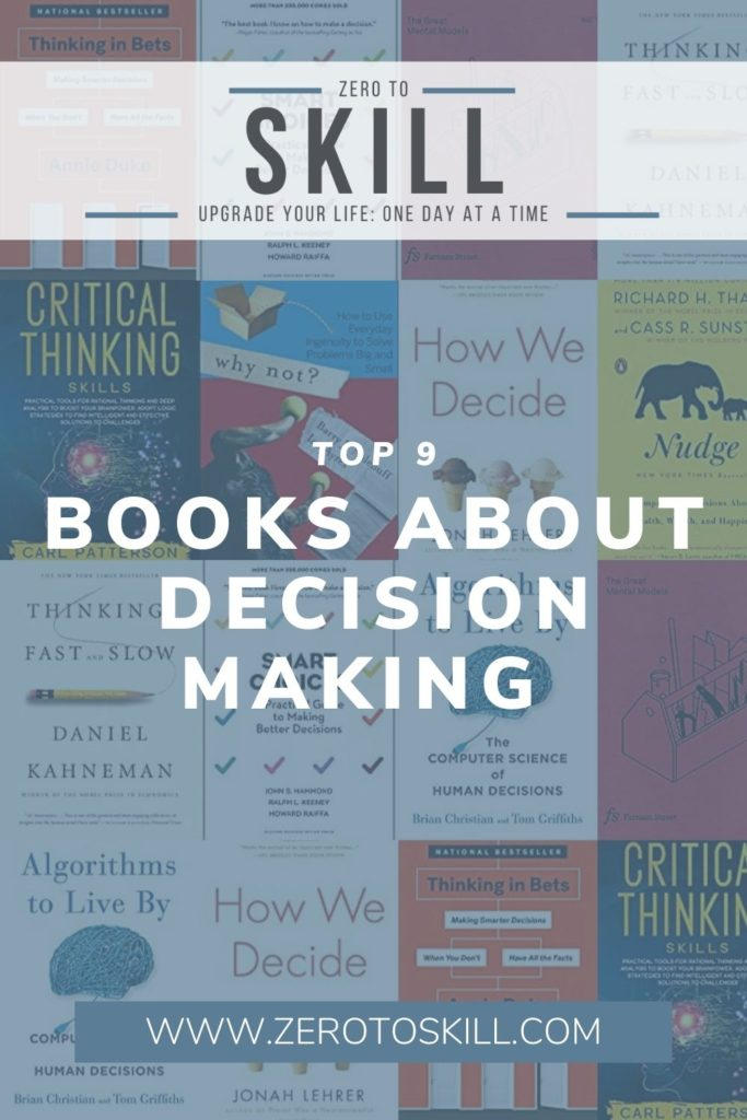 The 9 Best Decision Making Books