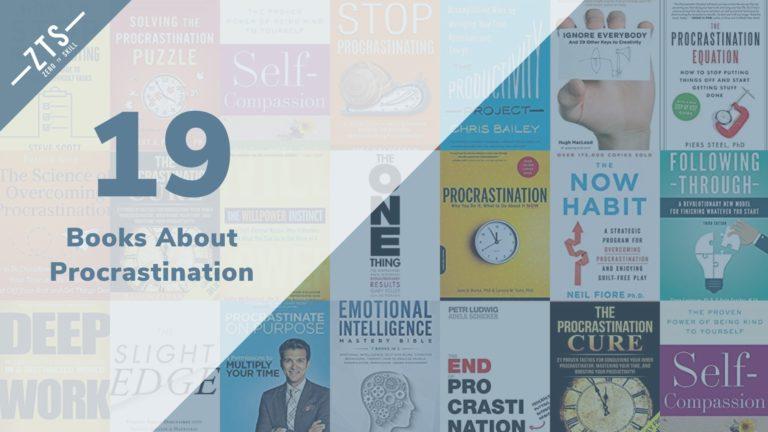 19 Books About Procrastination