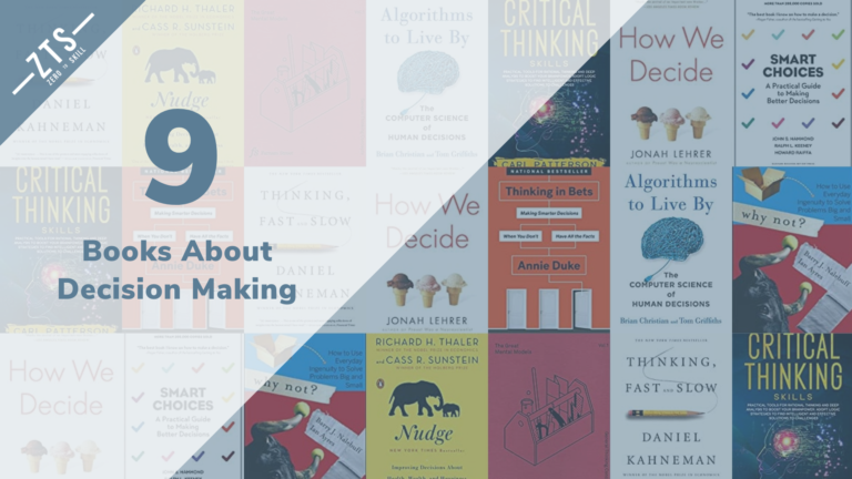 The 9 Best Decision Making Books for 2020