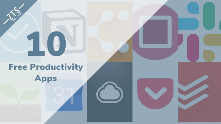 Top 10 Free Productivity Apps for 2020