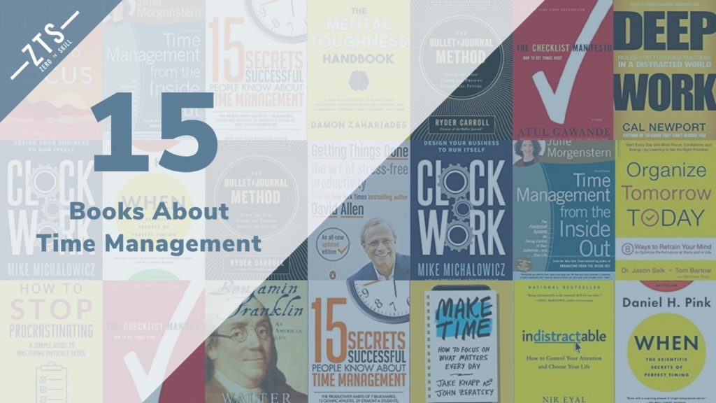 Top 15 Best Time Management Books