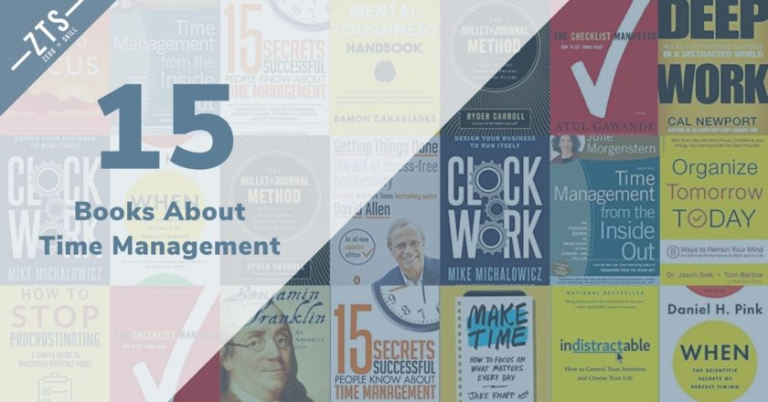 The 15 Best Time Management Books