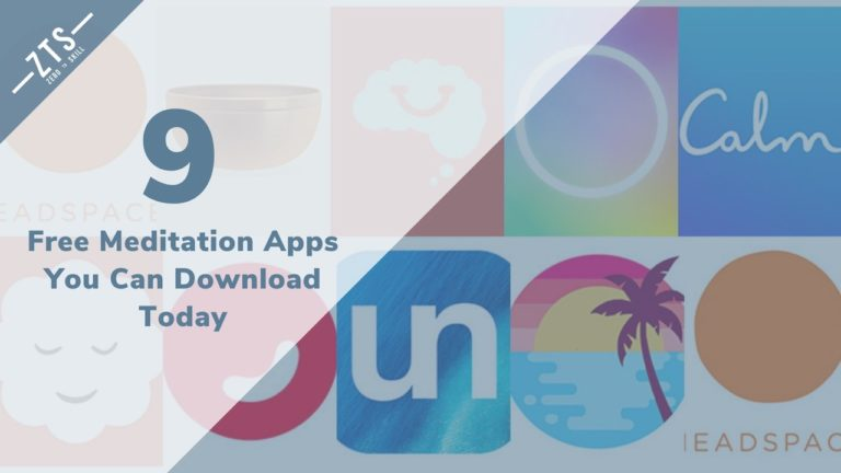9 Free Meditation Apps You Can Download Today