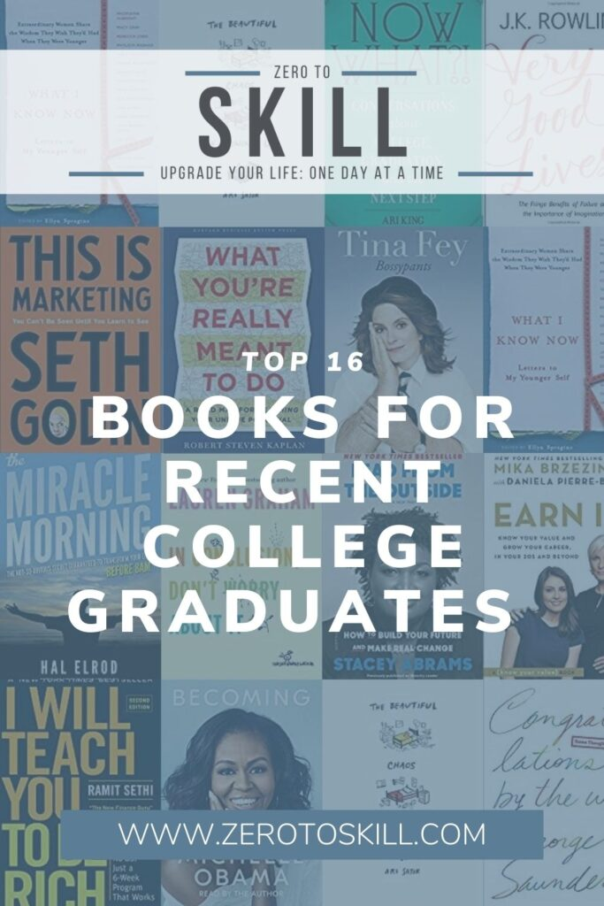 The 16 Best Books for Recent College Graduates for 2020