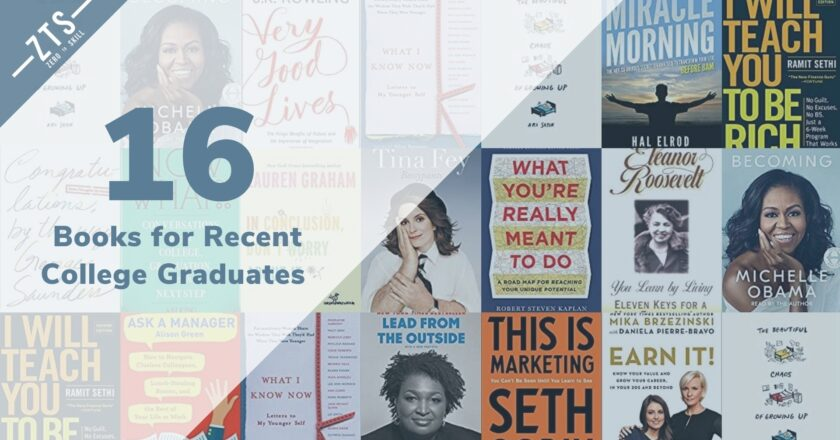 The 16 Best Books for Recent College Graduates