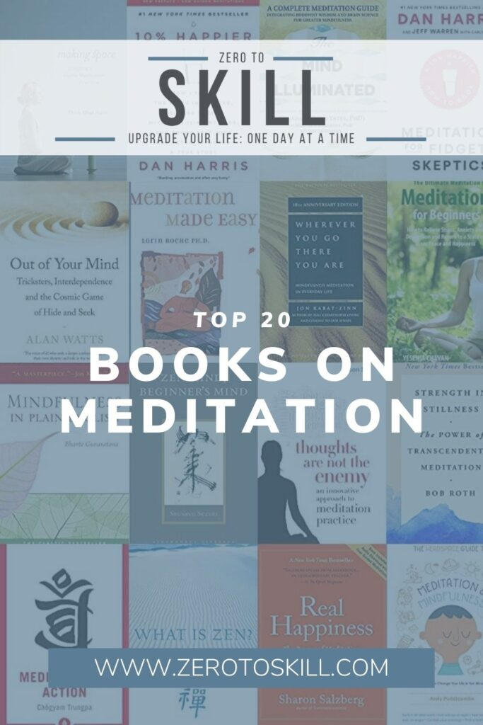 Top 20 Books on Meditation