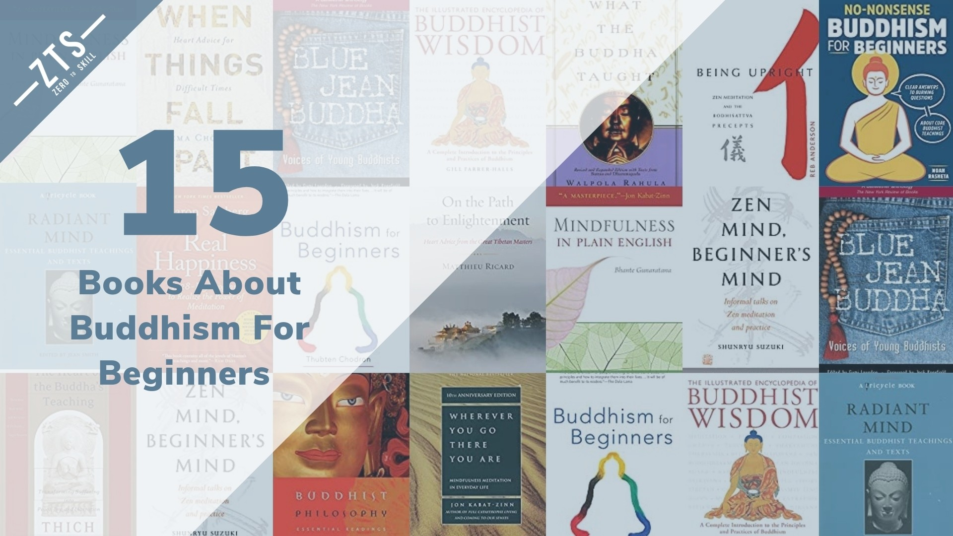 Best 15 Buddhism Books for Beginners