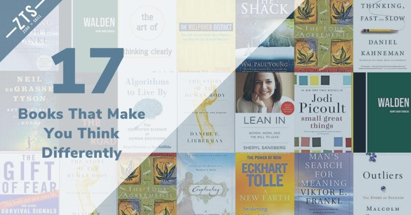 17 Books That Make You Think Differently