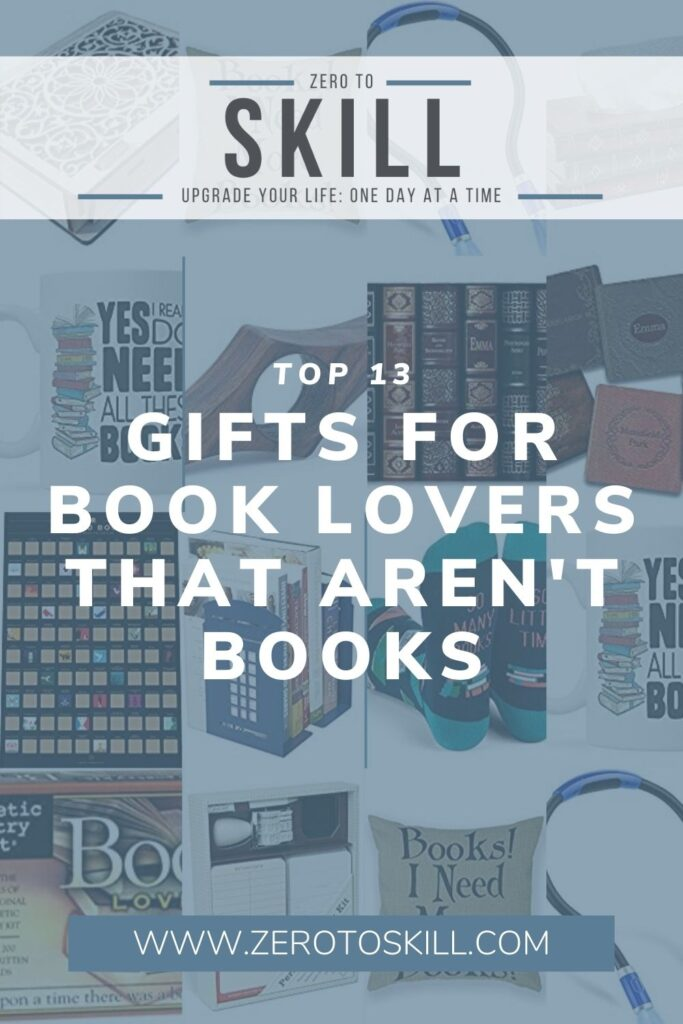 13 of the Best Gifts for Book Lovers That Aren't Books