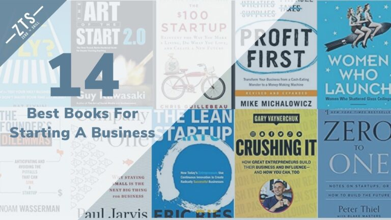 The Ultimate List of the 14 Best Books For Starting a Business