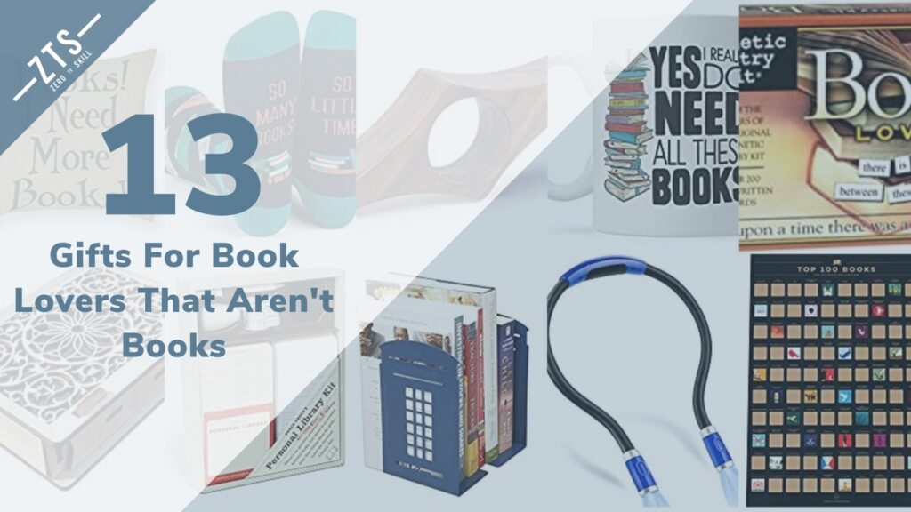 13 Gifts For Book Lovers That Aren't Books